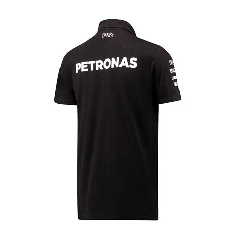 Polo Shirt Marcedes 3 2017 mercedes germany amg petronas f1 team polo shirt black clothing polo shirts shop by