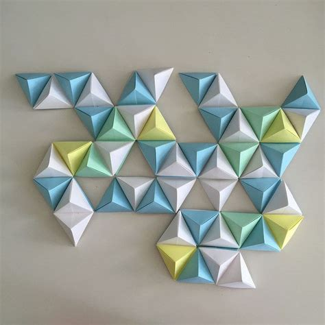 Origami Geometric - around two years ago while exploring design blogs and