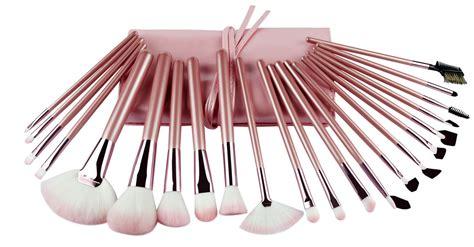 pieces full set gift foundation makeup brush pink nylon