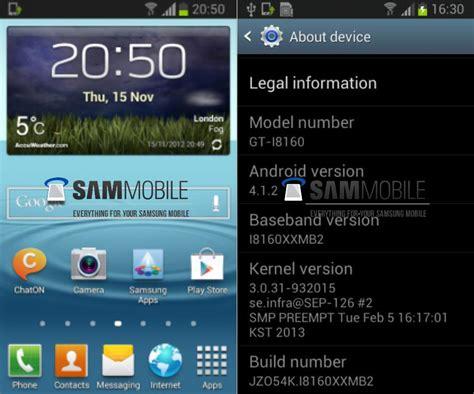Neue Update Welle Bei Samsung Jelly Bean F 195 188 R Weitere