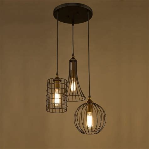 cage lighting pendants 30 industrial style lighting fixtures to help you achieve