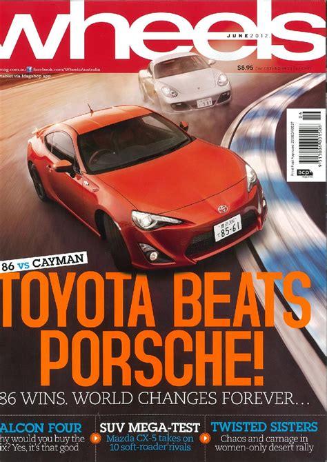 Toyota Magazine Toyota 86 Vs Cayman Wheels Magazine Australia Review
