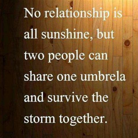 Weather the storms of marriage