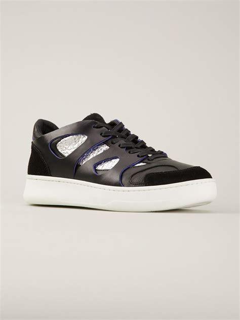 mcqueen sneakers mens mcqueen x move lo sneakers in black for