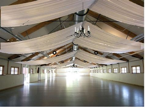 roof draping images pickering barn with ceiling drapes reception