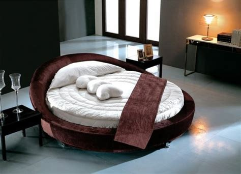 le lit rond design  idees de lits ronds modernes