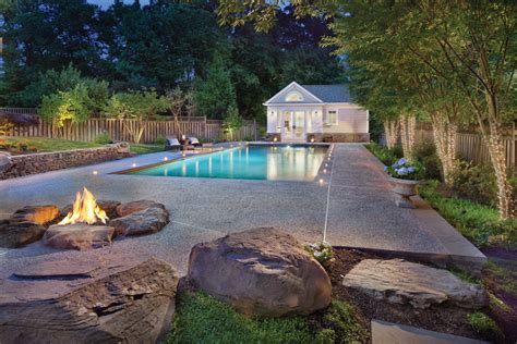In The Backyard Or On The Backyard by Backyard Oasis Home Design Magazine