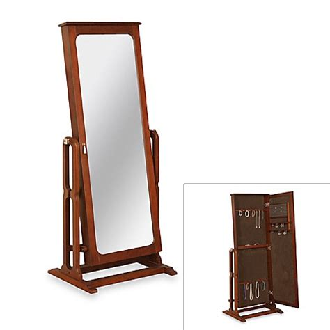 cheval jewelry armoire cheval mirror marquis cherry finish jewelry armoire bed