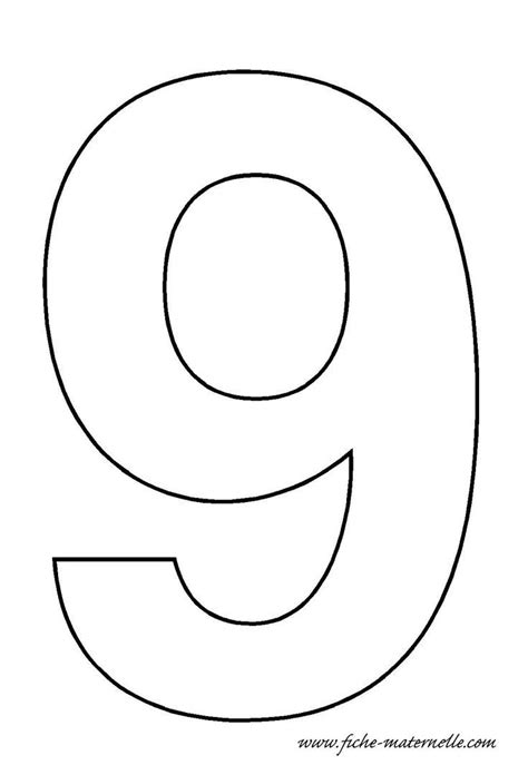 Number Drawing 0 To 9 by Number 9 Template Crafts And Worksheets For Preschool