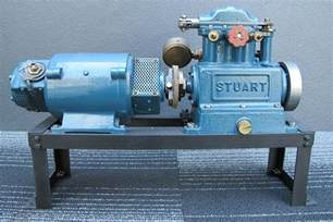 sold stuart sirius model steam engine generator 37cm