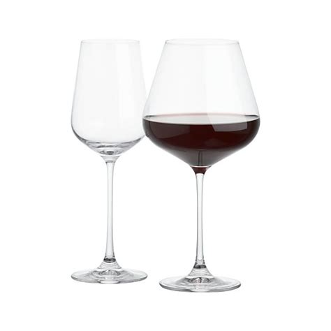 crate and barrel barware hip wine glasses crate and barrel