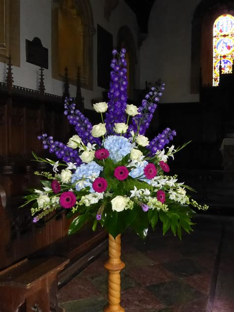 Church Wedding Flower Arrangements by Wedding Flowers For Churches Church Flowers