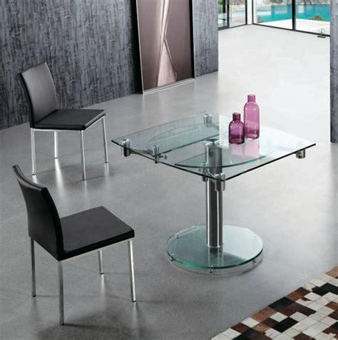 comedor ovalado extensible mesa comedor ovalada y extensible de cristal le mans