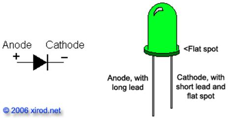 led resistor on positive or negative image gallery led cathode