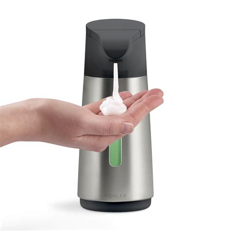 Dijamin Dispenser Sabun Touch Soap Dispenser kohler 9 oz stainless steel touchless automatic soap