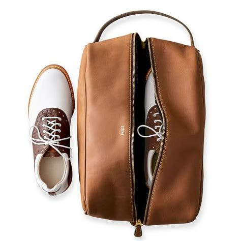 shoe bag boots leather sunday golf shoe bag and graham