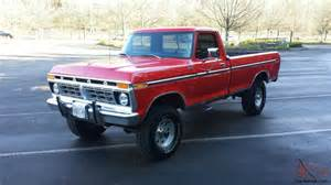 1977 Ford F250 For Sale 1977 Ford F250 4x4 Highboy 400 V8 4speed Supper Clean Must See