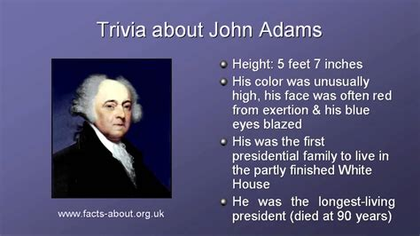 biography facts president john adams biography youtube