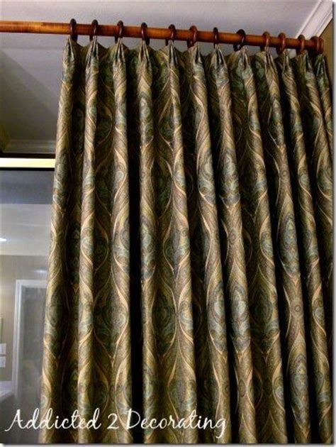 diy drapes and curtains diy project how to make unlined pinch pleated drapery