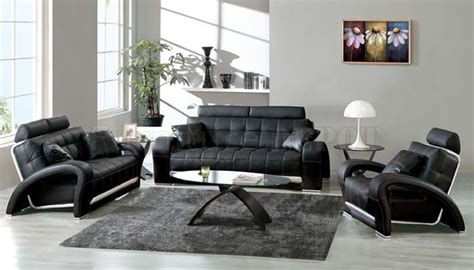 black and white leather living room furniture living room