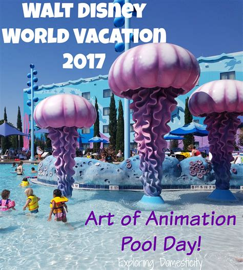 Walt Disney World Giveaway - art of animation pool day and piczzle giveaway wdw day 3