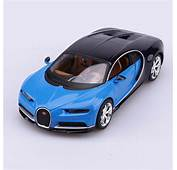 Bugatti Chiron Car Model Toys 1/24 Scale Blue Diecast