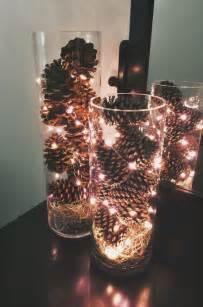 Led Lights For Vases Of Flowers Weihnachtsdeko Basteln Mit Tannenzapfen Wundervolle Diy