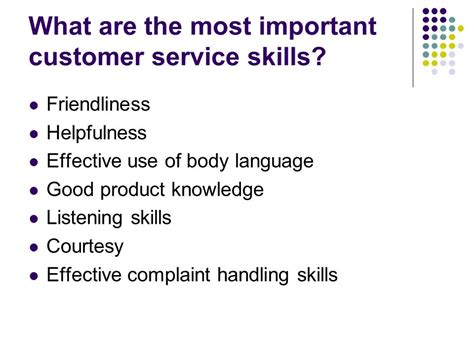 what is customer service ppt