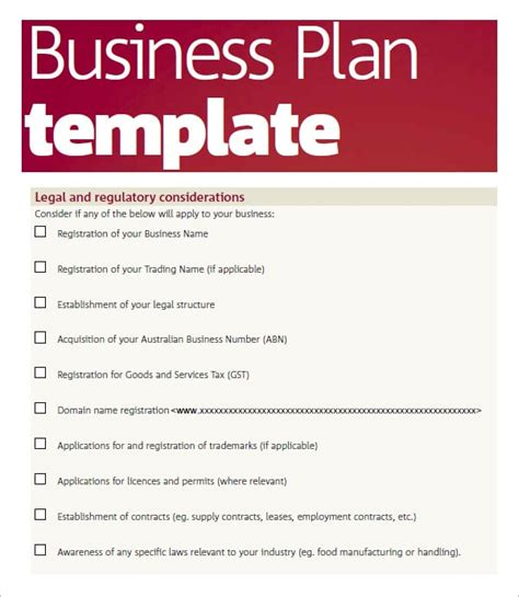 5 Free Business Plan Templates Excel Pdf Formats Web Based Business Plan Template
