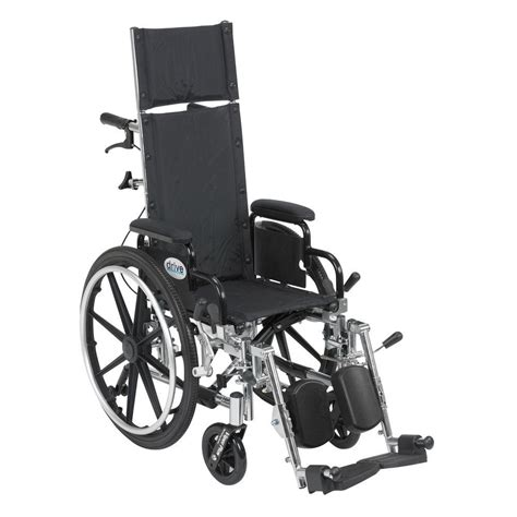drive reclining wheelchair drive viper plus light weight reclining wheelchair with