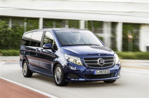 Mercedes V Class by 2015 Mercedes V Class Officially Unveiled