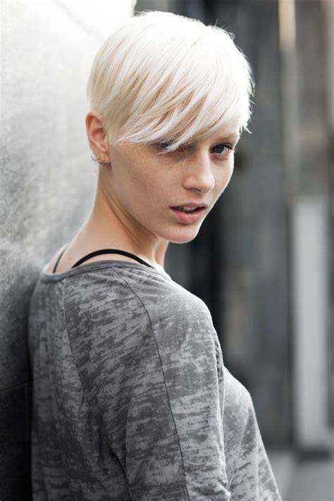 with platinum hair platinum blonde hair
