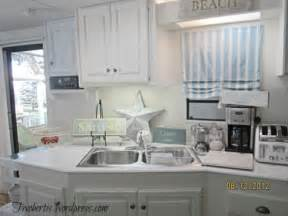 Mobile Home Interior Decorating Ideas Mobile Home Decorating Beach Style Makeover The White
