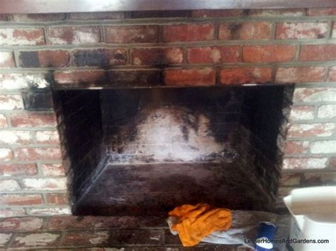 how to clean soot brick fireplace how to clean soot bricks from kerry aar lesser home