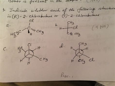Solved: Indicate Whether Each Of The Following Structure I ... R 2 Chlorobutane