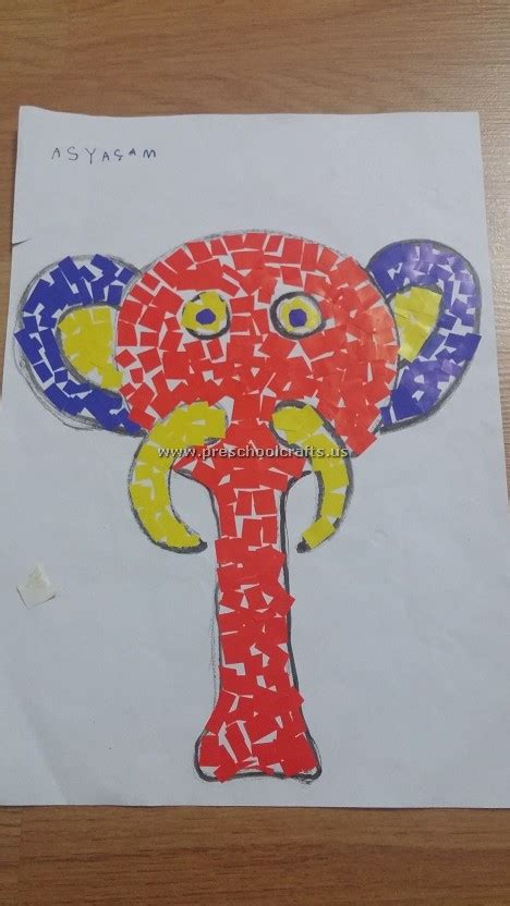elephant craft for elephant craft ideas for kid preschool crafts