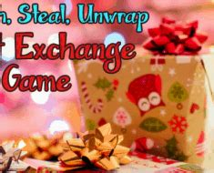 switch steal unwrap gift exchange after wrap your entire tree with saran wrap for easy storage awesomejelly