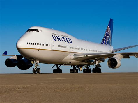 this boeing 747 is being united airlines ceo oscar munoz business insider