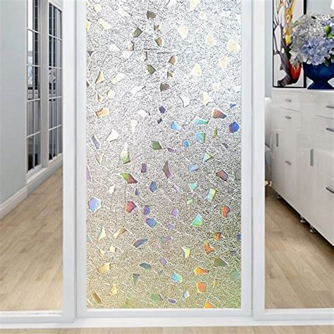 decorative window stickers for home coavas 3d window film privacy window decor anti uv glass