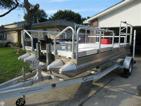 aluma boats 2014 used aluma sport 615 pontoon boat for sale 10 000