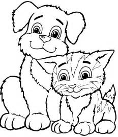 Pet Coloring Pages Free world kitten pictures to colour