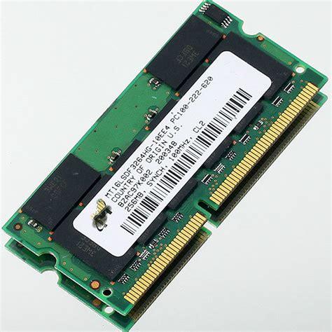 laptop ram test 256mb pc100 100mhz sdram 144pin sodimm memory ram laptop