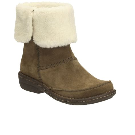 clarks avington grace womens casual boots from