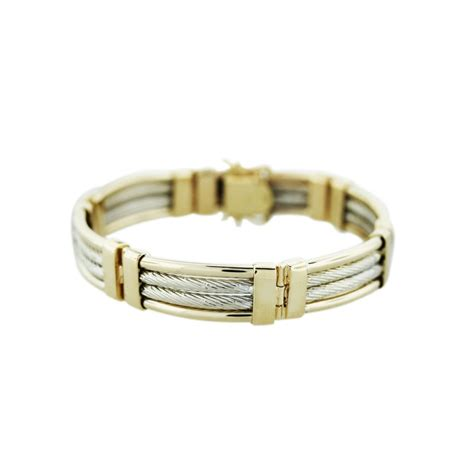 Masculine Gold masculine bracelets for raymond jewelers