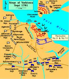 yorktown map the battle of yorktown quotes quotesgram