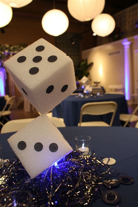 casino theme decorations best 25 casino themed centerpieces ideas on