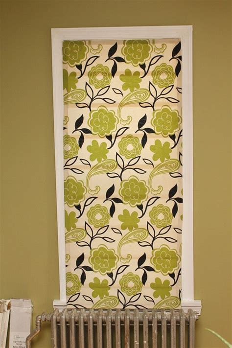 no sew shades from mini blinds how to turn window blinds into shades craft