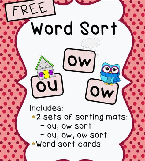 ow pattern words activities colors and the long on pinterest