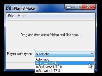 format video m3u8 create m3u and m3u8 playlist via drag and drop with