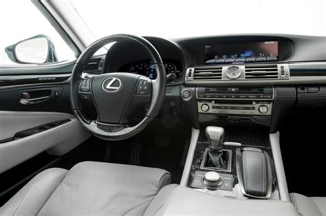 lexus ls interior 2015 lexus ls460 review and rating motor trend
